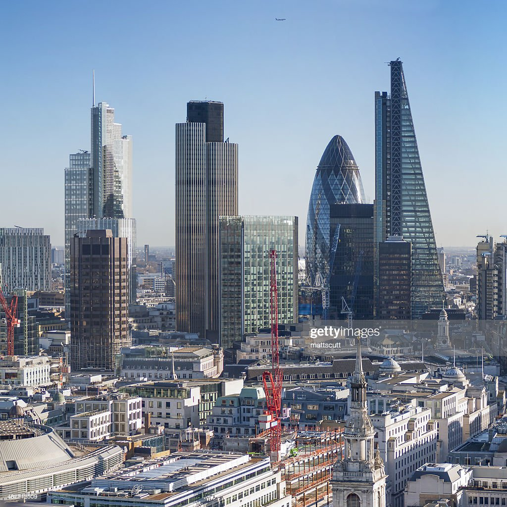UK, England, London, View of city skyline : Stock Photo