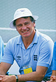 England manager Bobby Robson at the Estadio Tecnologico Monterrey Mexico for England's World Cup Group F match against Portugal 3rd June 1986...
