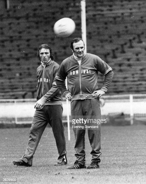 England manager Don Revie during training Original Publication People Disc HU0334