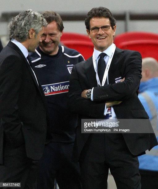 England manager Fabio Capello before the International Friendly match at Wembley Stadium London