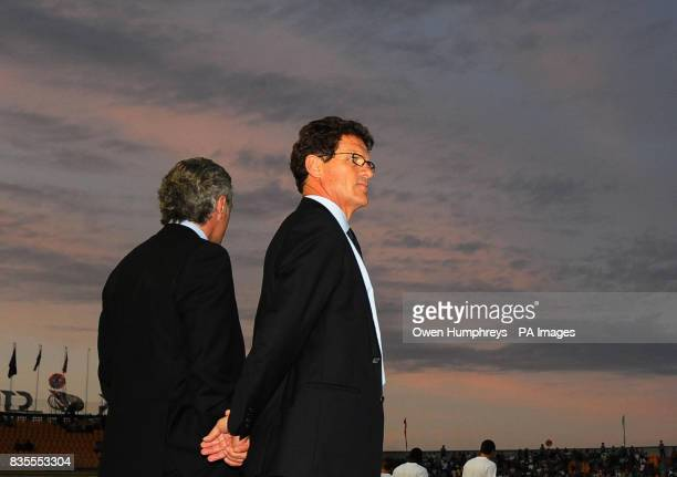 England manager Fabio Capello before the World Cup Qualifying match at Central Stadium Almaty Kazakhstan