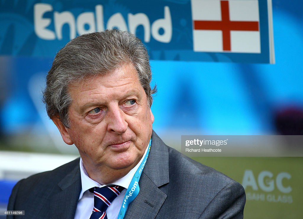 England manager <a gi-track='captionPersonalityLinkClicked' href=/galleries/search?phrase=Roy+Hodgson&family=editorial&specificpeople=881703 ng-click='$event.stopPropagation()'>Roy Hodgson</a> looks on during the 2014 FIFA World Cup Brazil Group D match between Costa Rica and England at Estadio Mineirao on June 24, 2014 in Belo Horizonte, Brazil.