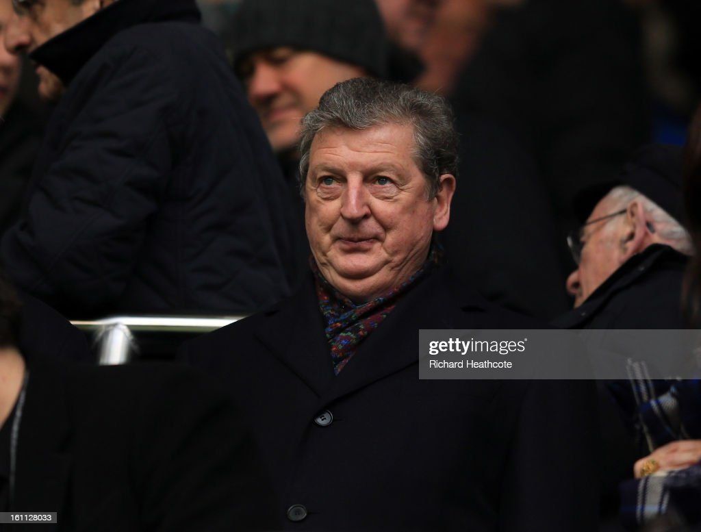 England manager Roy Hodgson looks on from the stands during the Barclay's Premier League match between Tottenham Hotspur and Newcastle United at White Hart Lane on February 9, 2013 in London, England.