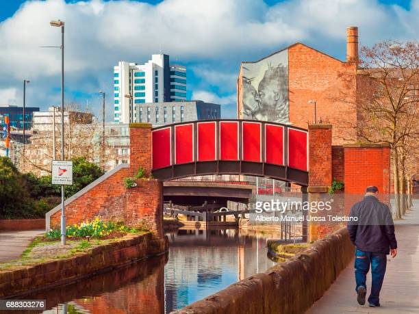 England, Manchester, Ancoats area and Rochdale canal