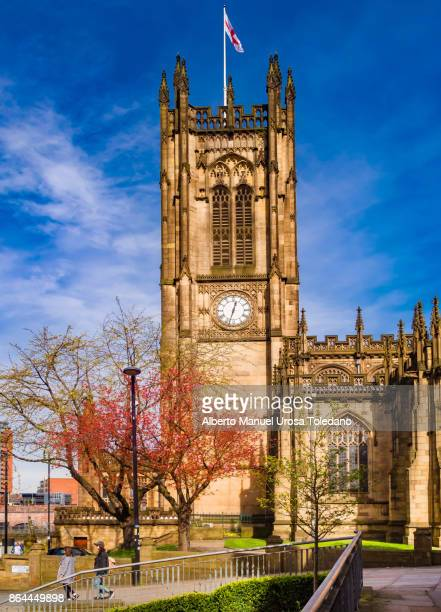 England, Manchester Cathedral, Clock Tower