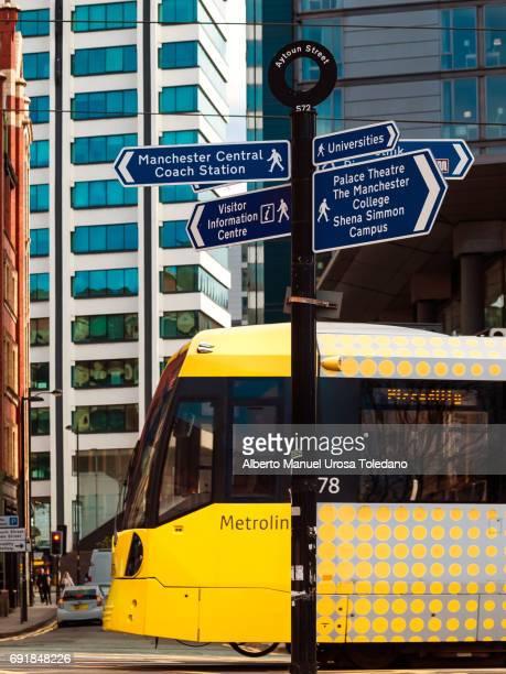 England, Manchester, Chorlton street cityscape