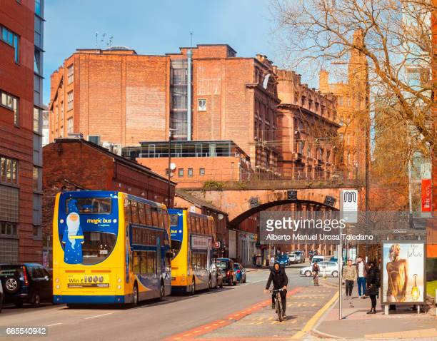 England, Manchester, Cityscape - Brook St.