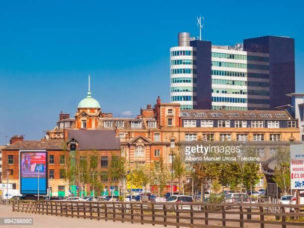 England, Manchester, Cityscape