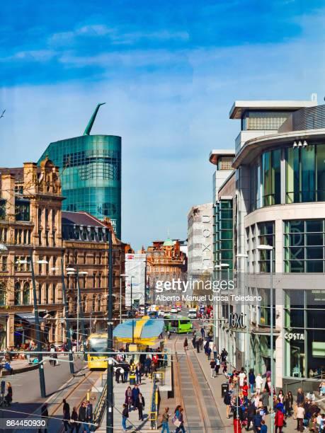 England, Manchester, Corporation street