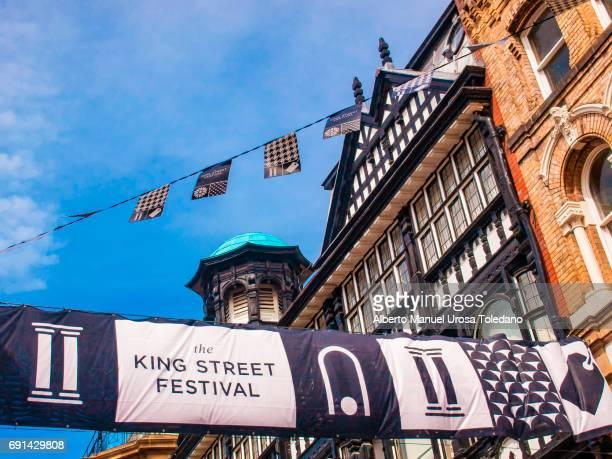 England, Manchester, King Street, Festival