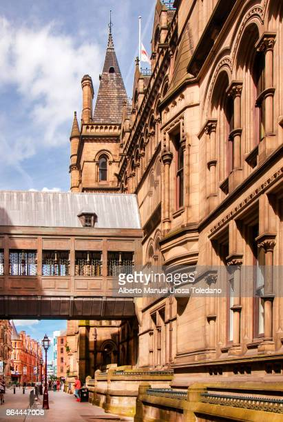 England, Manchester,  Lloyd Street, Town hall