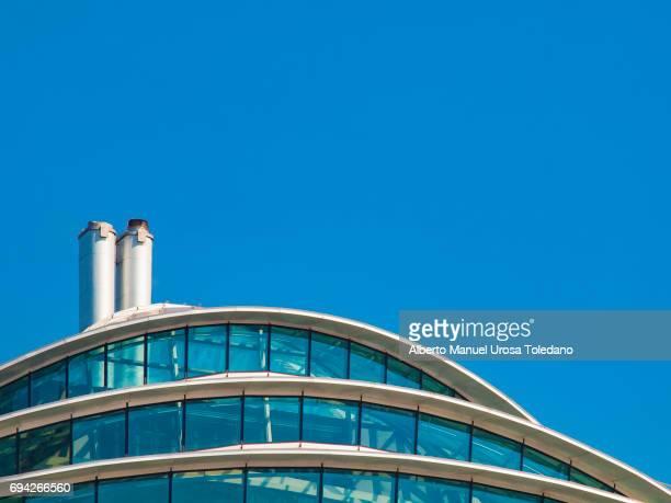 England, Manchester, modern building