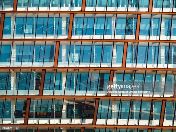 England, Manchester, modern facade