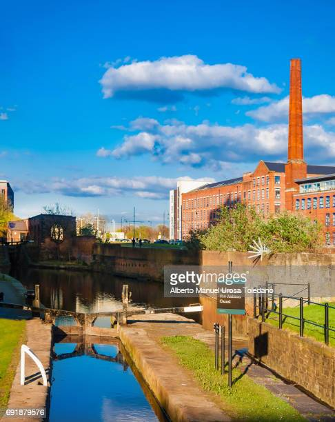 England, Manchester, New Islington, Ashton Canal