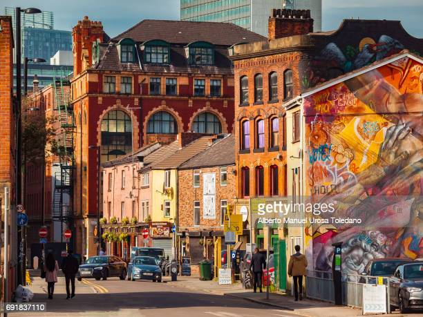England, Manchester, Northern Quarter, Cityscape
