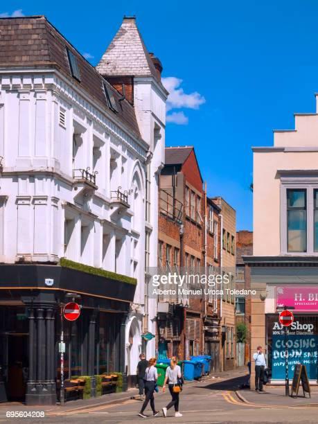 England, Manchester, Northern Quarter, Hilton st
