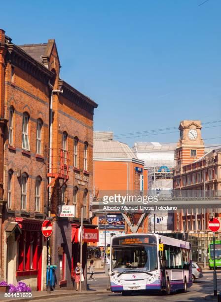 England, Manchester, Northern Quarter, Hilton st.