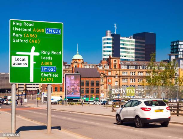 England, Manchester, Ring Road - Cityscape