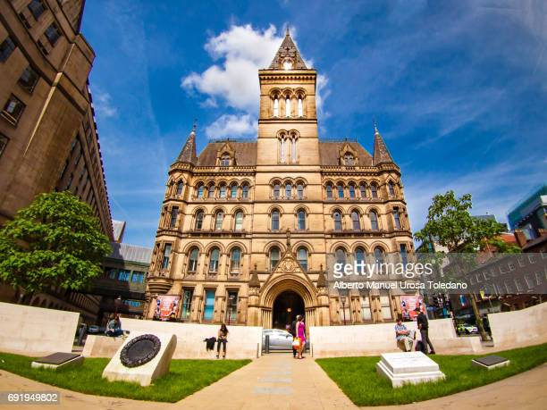 England, Manchester, St Peter's Square, Town Hall