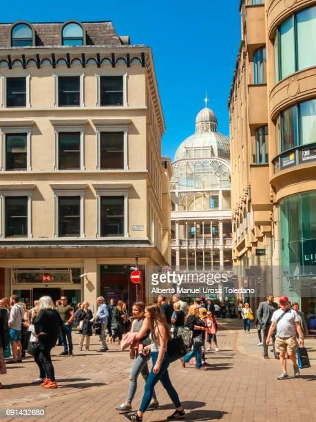 England, Manchester, St.Ann's square, Barton Arcade