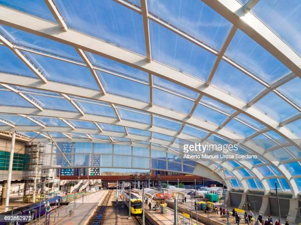 England, Manchester, Victoria train station, Platform