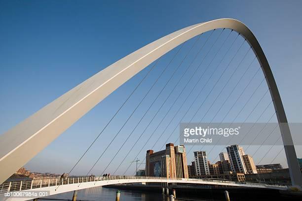 England, Northumberland, Newcastle, Millennium Footbridge