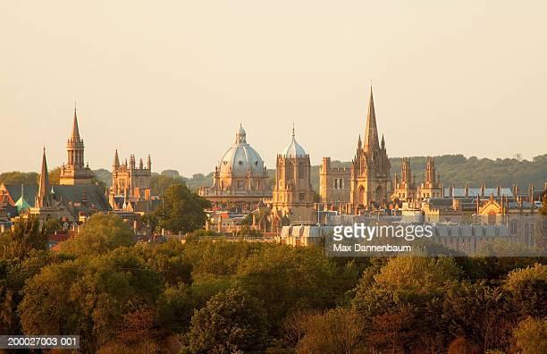 England, Oxford, city skyline