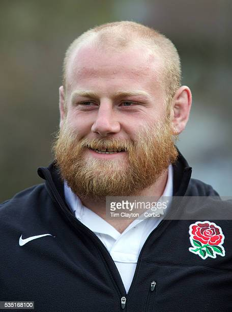 England player Dan Cole at Wakatipu High School Queenstown during a visit by England players during the IRB Rugby World Cup tournament Queenstown New...
