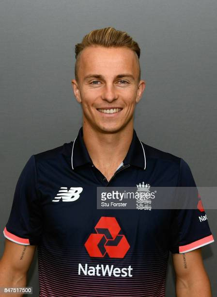 England player Tom Curran pictured ahead of the T20 against the West Indies at Emirates Durham ICG on September 15 2017 in ChesterleStreet England