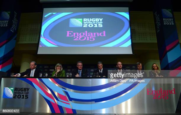 England Rugby 2015 Chairman Andy Coslett Chief Executive of England 2015 Debbie Jevans IRB and RWCL Chairman Bernard Lapasset IRB CEO and RWCL...