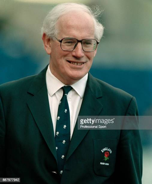 England rugby union coach Jack Rowell during their Five Nations rugby union match against Scotland at Murrayfield in Edinburgh on 2nd March 1996...