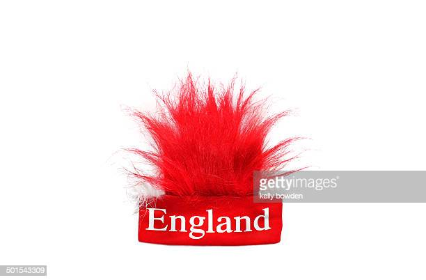England St Georges fun hair wig headwear costume