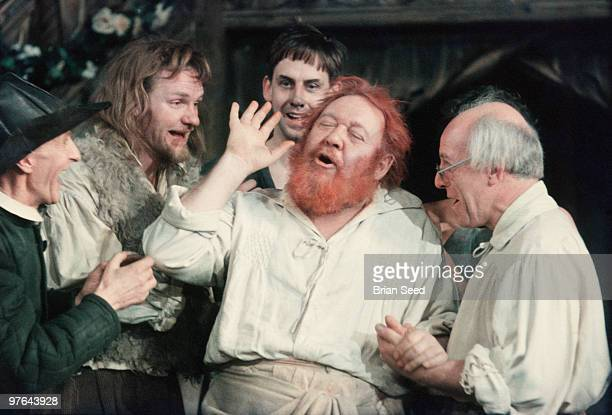 England Stratford on Avon Charles Laughton as Bottom in Shakespeares A Midsummer Nights Dream 1958