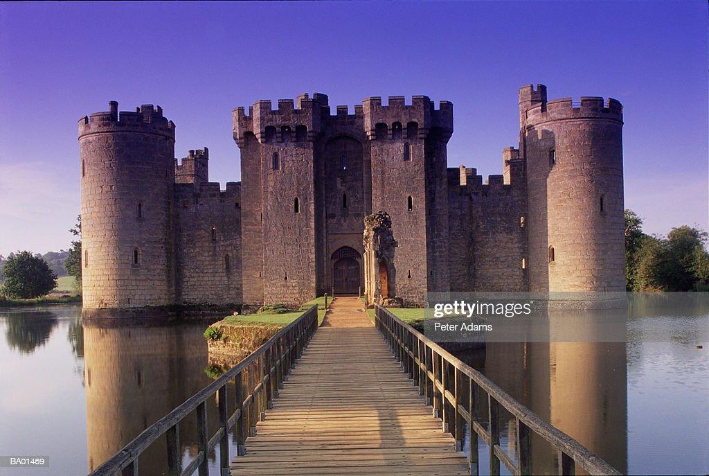 UK, England, Sussex, Bodiam Castle