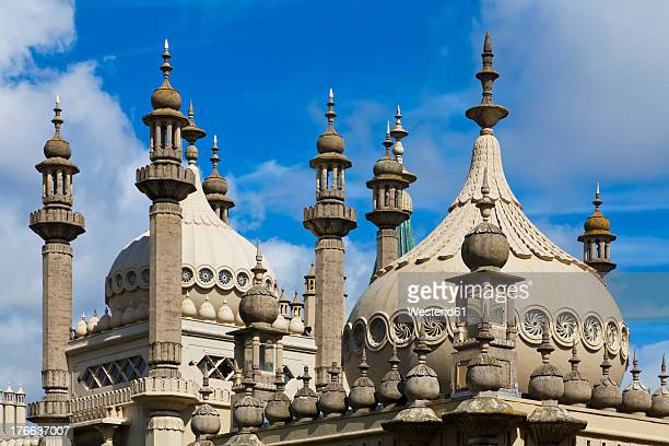England, Sussex, Brighton, View of Royal Pavilion