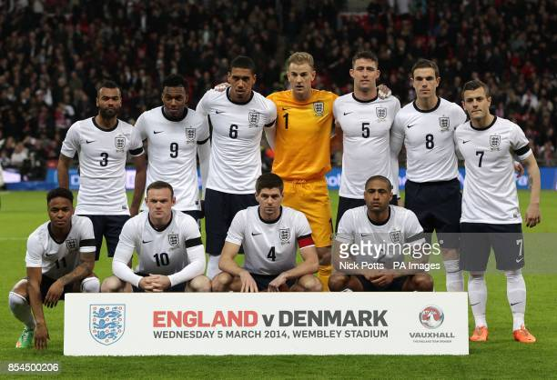 England team group Ashley Cole Daniel Sturridge Chris Smalling Joe Hart Gary Cahill Jordan Henderson and Jack Wilshere Raheem Sterling Wayne Rooney...