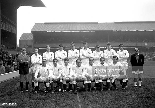 England team group D C J McMahon Don Rutherford Robert Lloyd George Sherriff John Owen Peter Larter Rodney Webb Bob Taylor Keith Savage and A D...