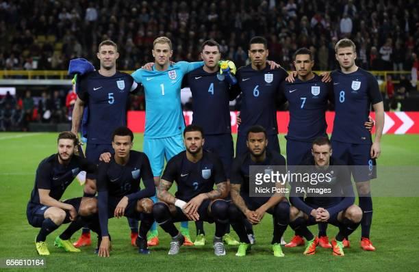 England team group Gary Cahill Joe Hart Michael Keane Chris Smalling Jake Livermore and Eric Dier Adam Lallana Dele Alli Kyle Walker Ryan Bertrand...
