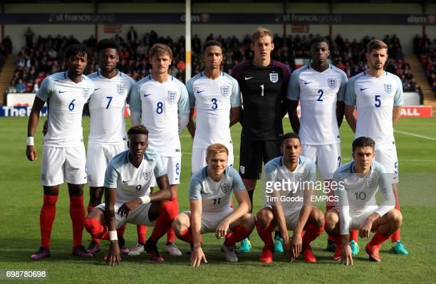 England team group Nathaniel Chalobah Joshua Onomah John Swift Brendan Galloway England goalkeeper Christian Walton Dominic Iorfa Jack Stephens Tammy...