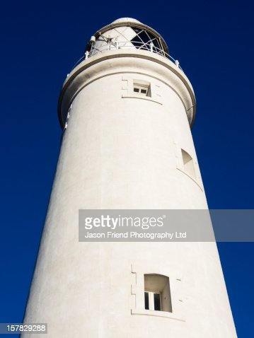 England, Tyne & Wear, St Marys Lighthouse : Stock Photo