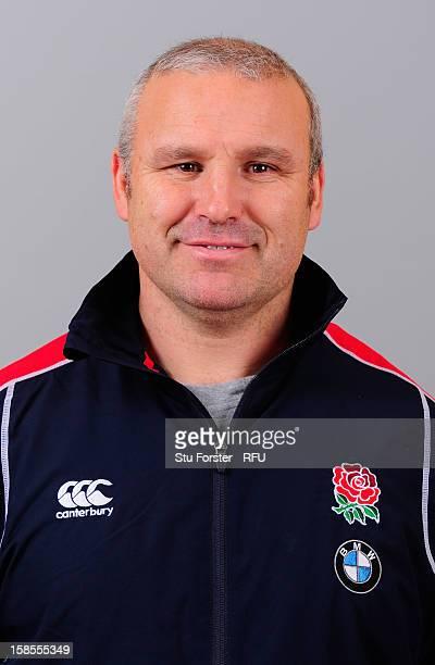 England U18 coach John Fletcher on December 18 2012 in Burton England