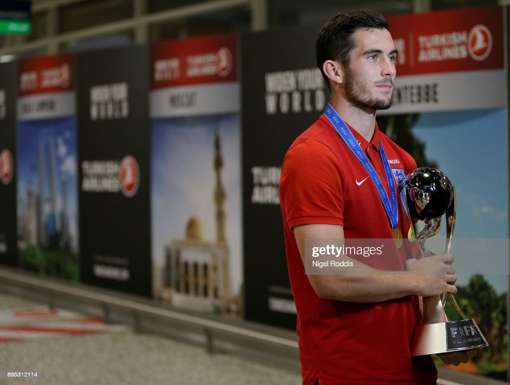 England U20s FIFA World Cup Winners Airport Arrival