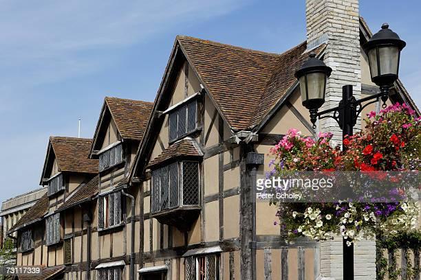 England, Warwickshire, Stratford-upon-Avon, Henley Street, William Shakespeare's birthplace