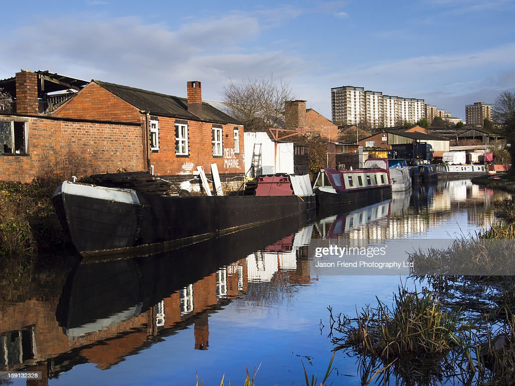 England, West Midlands, Stourbridge Canal.