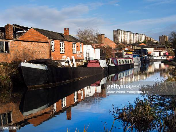 England, West Midlands, Stourbridge Canal.