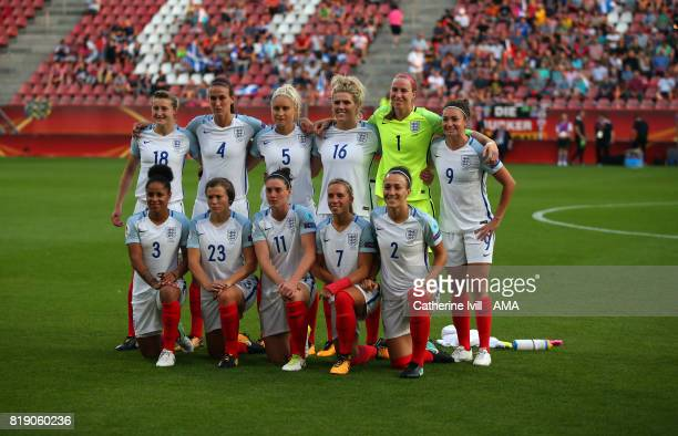 England Women team group during the UEFA Women's Euro 2017 match between England and Scotland at Stadion Galgenwaard on July 19 2017 in Utrecht...