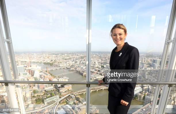 England Womens captain Charlotte Edwards poses for a photo during the ECB Announcement of the England Women's Squads to play India and South Africa...