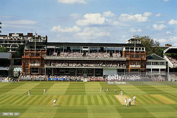 England,London,Lords Cricket Ground match in progress