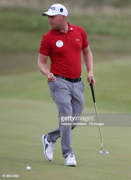England's Adam Hodkinson during practice day four of The Open Championship 2017 at Royal Birkdale Golf Club Southport