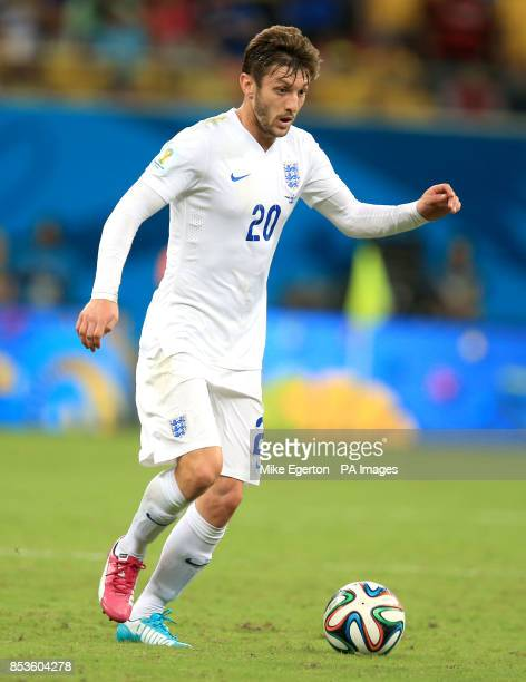 England's Adam Lallana during the FIFA World Cup Group D match at the Arena da Amazonia Manaus Brazil